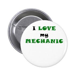 I Love my Mechanic Button