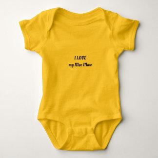 I LOVE my Mee Maw Baby Bodysuit