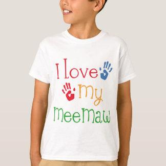 I Love My Meemaw Handprints T-Shirt