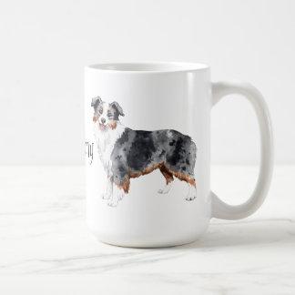 I Love my Mini American Shepherd Coffee Mug