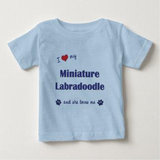 I Love My Miniature Labradoodle (Female Dog) T-shirts