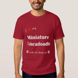 I Love My Miniature Labradoodle (Female Dog) Tshirts