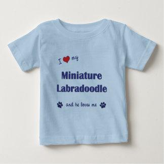 I Love My Miniature Labradoodle (Male Dog) Tshirt