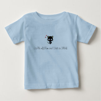 I love my Mom and Dad so much Baby T-Shirt