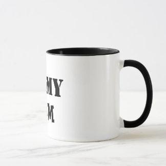 I love my mom coffee cup