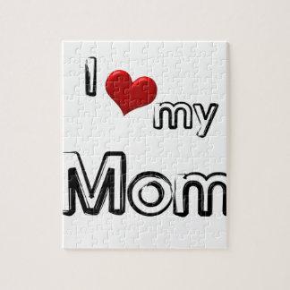 i love my mom jigsaw puzzle