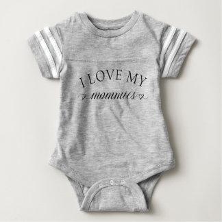 I love my mommies Bodysuit Baby Shirt