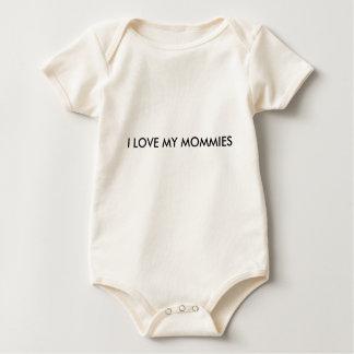 I LOVE MY MOMMIES onsie Baby Bodysuit