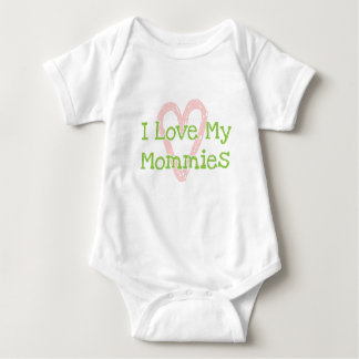 I Love My Mommies Onsie Baby Bodysuit
