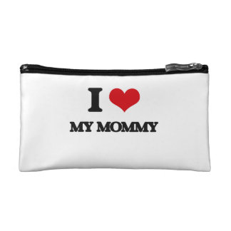 I Love My Mommy Cosmetic Bag