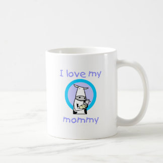 I love my mommy (cow) coffee mug