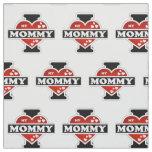 I Love My Mommy Heartbeats Fabric