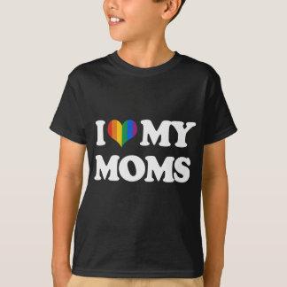 I LOVE MY MOMS - T-Shirt