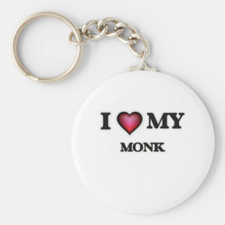 I love my Monk Keychain