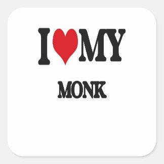 I love my Monk Sticker