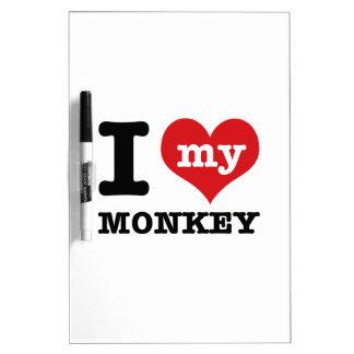 I love my monkey Dry-Erase board
