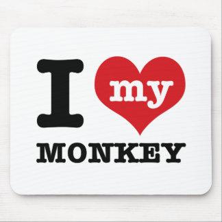 I love my monkey mousepads