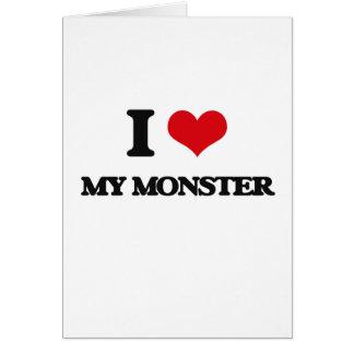 I Love My Monster Card