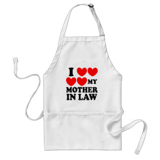 I Love My Mother In Law Standard Apron