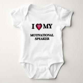 I love my Motivational Speaker Baby Bodysuit