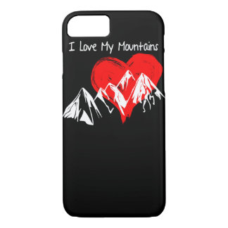 I Love My Mountains! Case-Mate iPhone Case