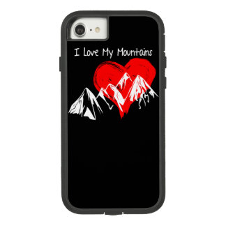 I Love My Mountains! Case-Mate Tough Extreme iPhone 8/7 Case