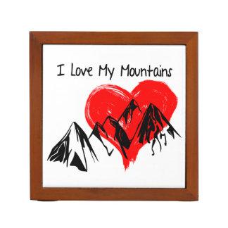 I Love My Mountains! Desk Organizer