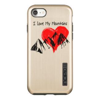 I Love My Mountains! Incipio DualPro Shine iPhone 8/7 Case