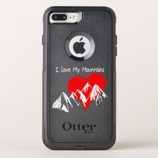 I Love My Mountains! OtterBox Commuter iPhone 8 Plus/7 Plus Case