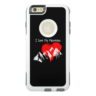 I Love My Mountains! OtterBox iPhone 6/6s Plus Case