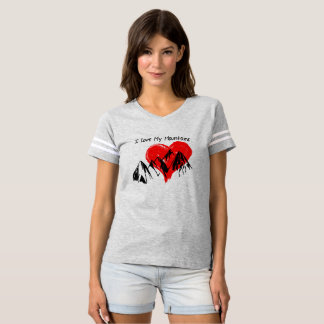 I Love My Mountains! T-shirt