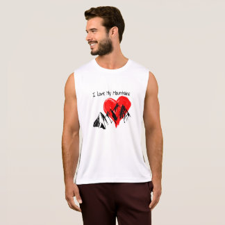 I Love My Mountains! Tank Top