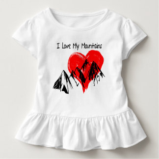 I Love My Mountains! Toddler T-shirt