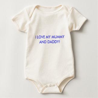I LOVE MY MUMMY AND DADDY! BABY BODYSUIT