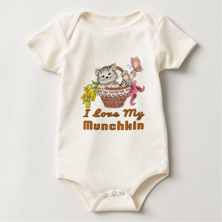 I Love My Munchkin Baby Bodysuit