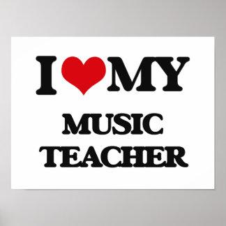 I love my Music Teacher Print