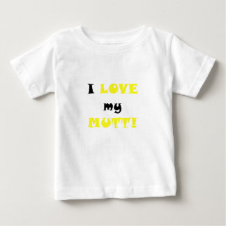 I Love my Mutt Baby T-Shirt