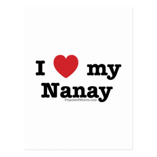 I Love My Nanay Post Card