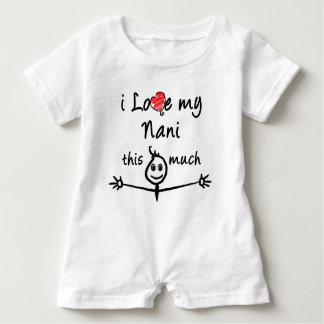 I love my Nani! (Grandma) Baby Romper