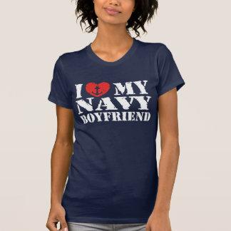 I Love My Navy Boyfriend Shirt
