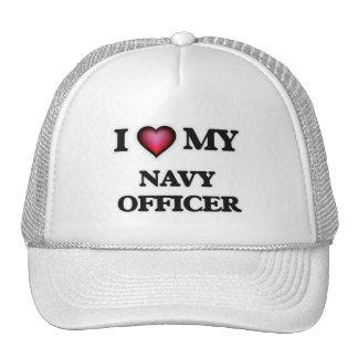I love my Navy Officer Trucker Hat
