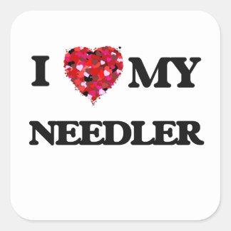 I love my Needler Square Sticker