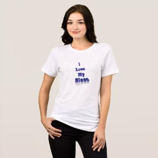 I Love My Neice Tshirt