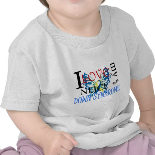 I Love My Neice with Down Syndrome T-shirt