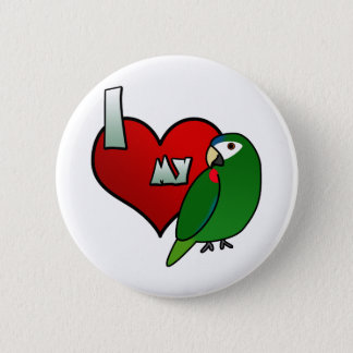 I Love my Noble Macaw 2 Inch Round Button