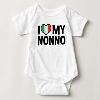 I Love My Nonno Baby Bodysuit