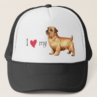 I Love my Norfolk Terrier Trucker Hat