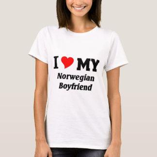 I love my Norwegian Boyfriend T-Shirt