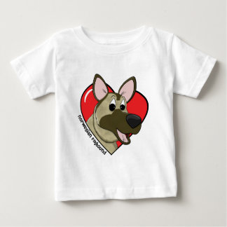 I Love my Norwegian Elkhound Baby's TShirt