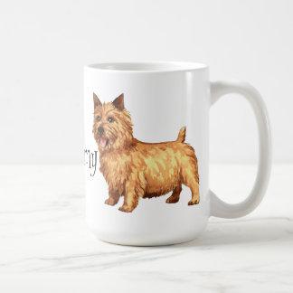 I Love my Norwich Terrier Classic White Coffee Mug